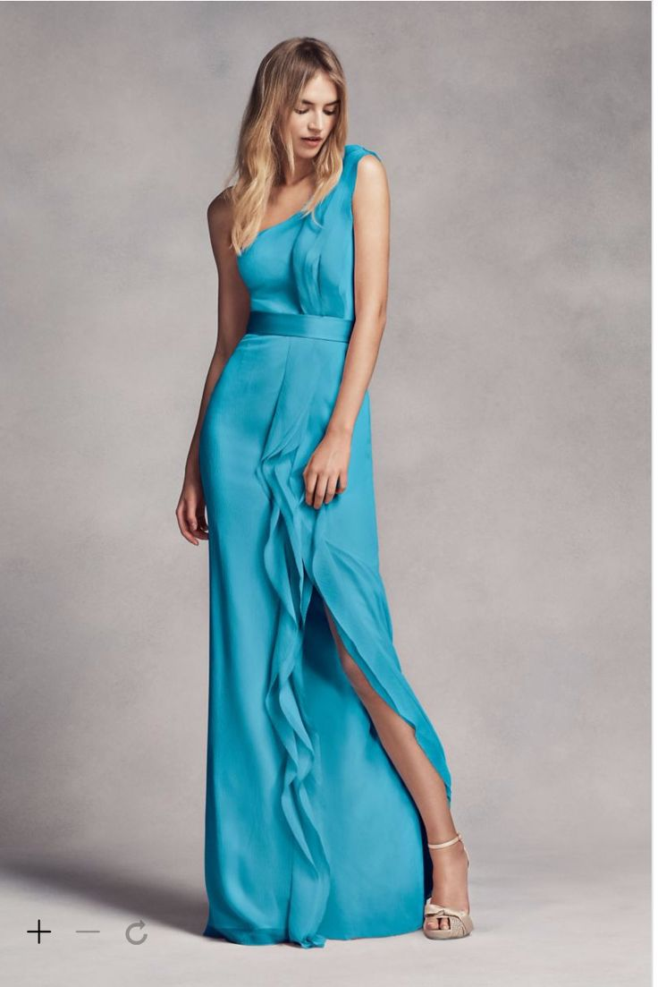 http://www.davidsbridal.com/Product_one-shoulder-dress-with-satin-sash-vw360215_all-bridesmaid-dresses  Vera Wang Collection  $200.00