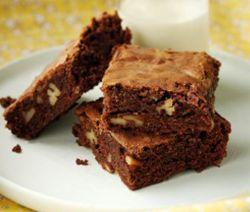 Recette brownies moelleux au noix de pécan de Julie Andrieu