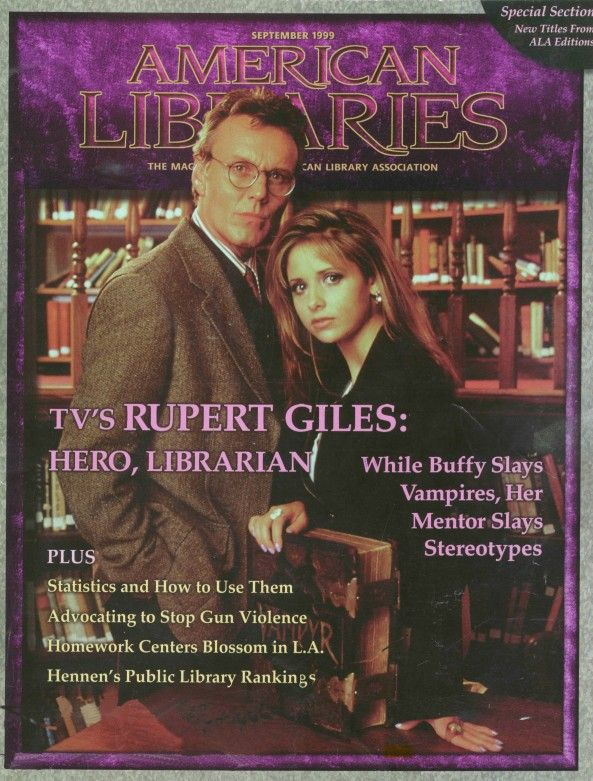 Doux Reviews: Buffy quotes for every occasion. Part 4: Librarianship