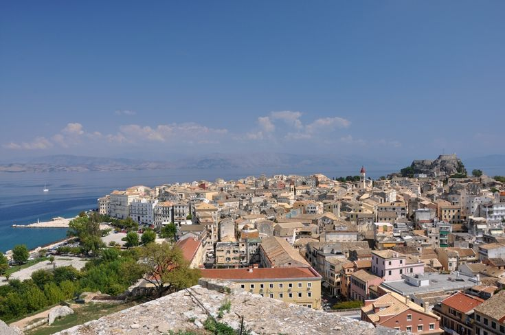 Best for HISTORY: Rhodes, Delos, Corfu, Patmos... (Corfu Old Town). Rhodes': walled old town, 14th-century Palace of the Grand Masters. Tiny Delos, near Mykonos, was once dedicated to Apollo; see ruins of shrines to the gods and explore mosaic-rich ancient dwellings. Kick back in Corfu's old town, with its Venetian, French and British architecture. On ethereal Patmos, visit the Monastery of St John the Theologian, and see the grotto where the saint wrote the Book of Revelations.