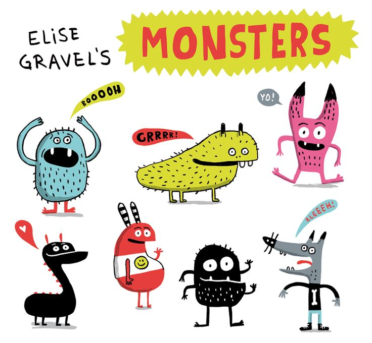 Elise gravels monsters
