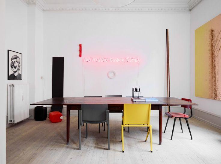 interior of Peter Amby's home / photo by Mikkel Rahr Mortensen