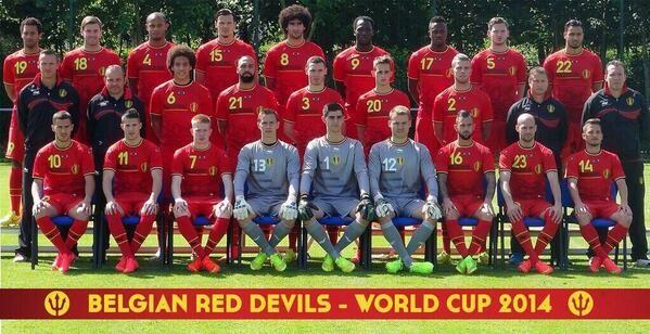 Selección de Belgica