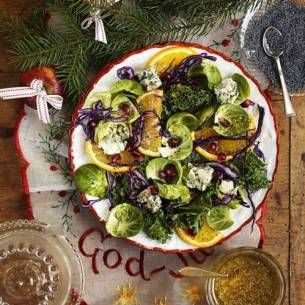 Image for Julsallad med valmodressing