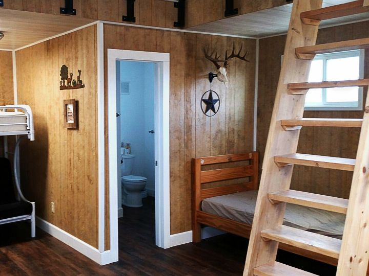 The Interior Of This Hunters Getaway Cabin Is Perfect For A Weekend Away  With The Guys