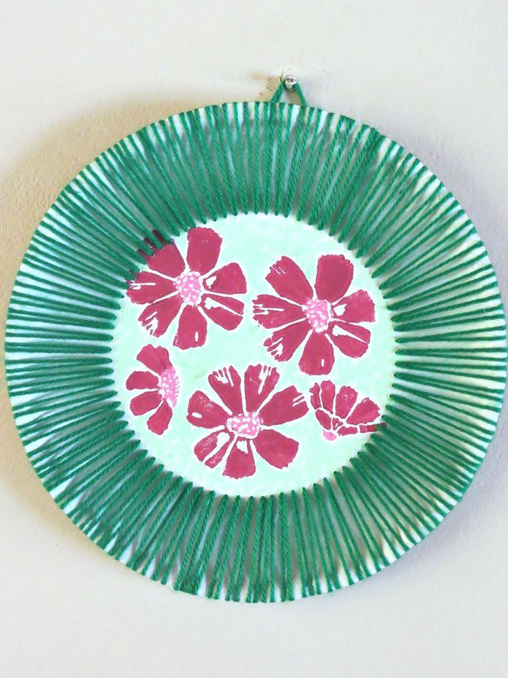 Hawaiian-Inspired Paper Plate Art  sc 1 st  Pinterest & 16 best Paper Plate Crafts images on Pinterest | Paper plate crafts ...