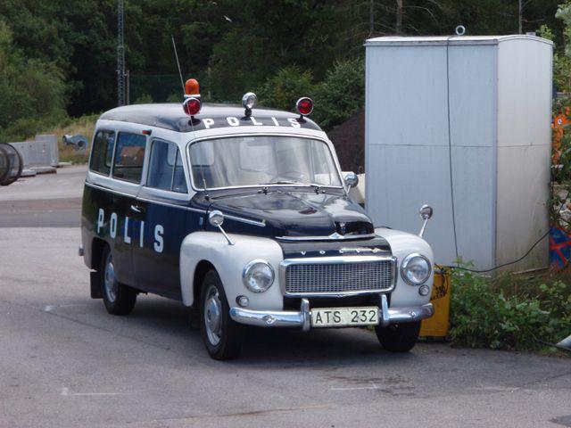 Volvo Duett police car Sweden