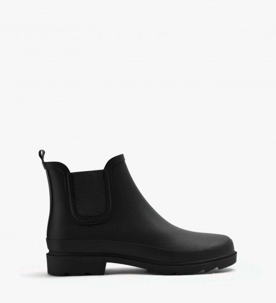 Lane Black by Matt & Nat. Love these ankle rubber boots. Eco-friendly shoes and sustainable fashion.