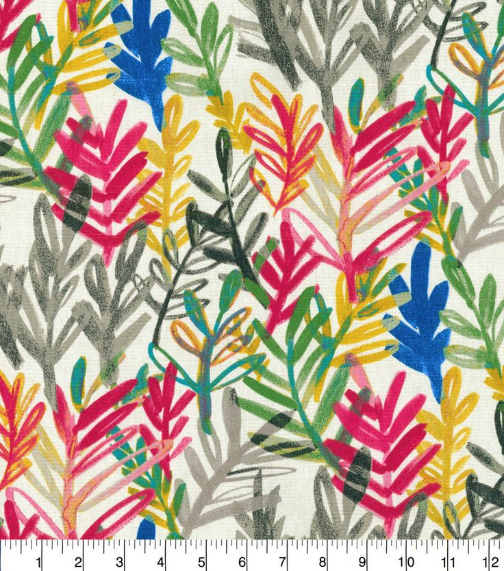 Waverly® Spotlight Upholstery Fabric 54\u0027\u0027-Zinnia Vibrant Canvas,