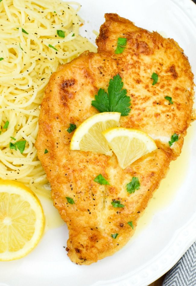 "Chicken Francaise is an impressive dish that celebrates our American ""Melting Pot"" by bringing together two of my favorite cuisines – Italian and French. The bonus is its feasibility for a busy weeknight treat, allowing you to put together a complex and delicious dish with simple ingredients and limited time.   ""Food is our common …"
