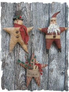 free images of christmas ornies to make | winter star ornies make these adorable ornies for your tree or to give ...