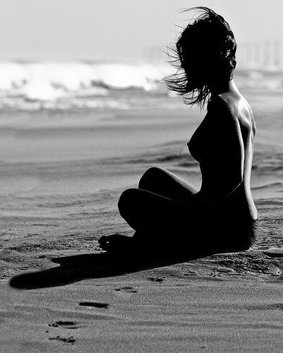 Black and White nudes. Enjoying the silence.