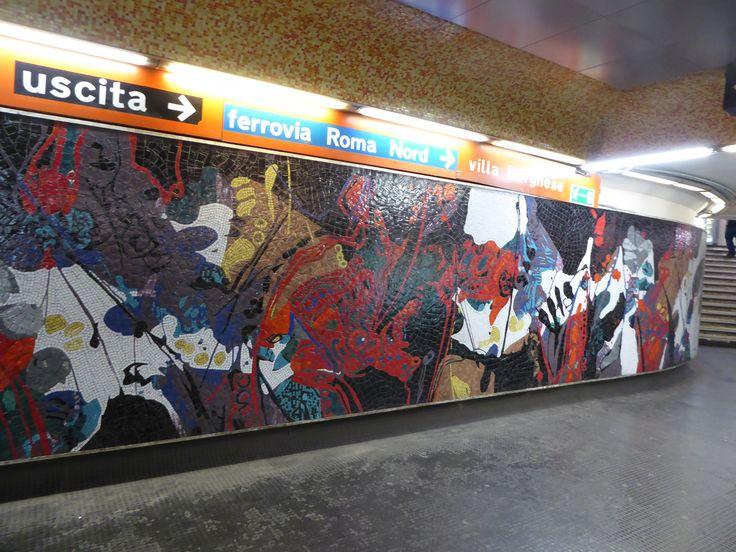 In Rome Metro - Flaminio?