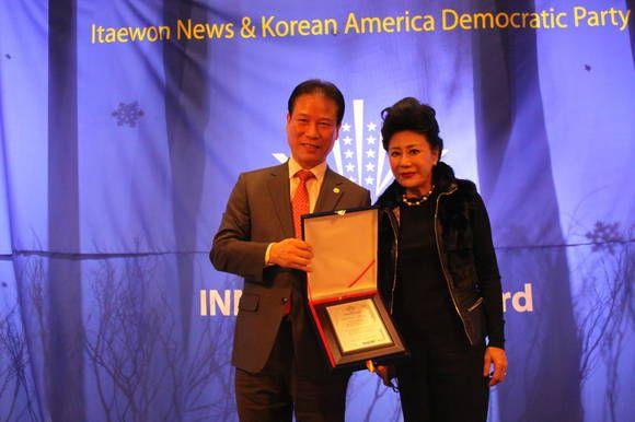 서양화가 박영길 화백 '글로벌 한국 미술인 대상' 수상