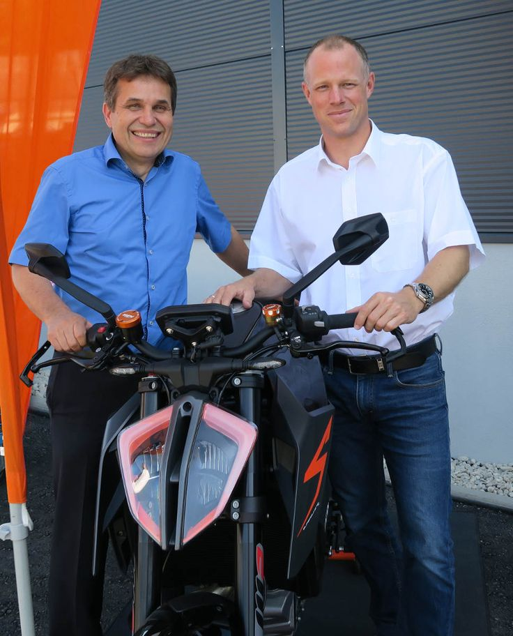 KTM Opens a New R&D Centre in Germany Klaus Krumpholz and Philipp Habsburg