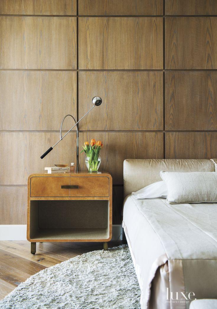 Eclectic Neutral Bedroom Detail 161 best Luxe