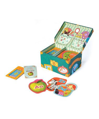 Take a look at this Grandma's Trunk Alphabet Game by Educational Insights on #zulily today! $10 !!: Insights Grandma S, Alphabet Games, Grandma S Trunk, Gift Ideas, Trunk Alphabet, Trunks, Educationalinsights, Kid