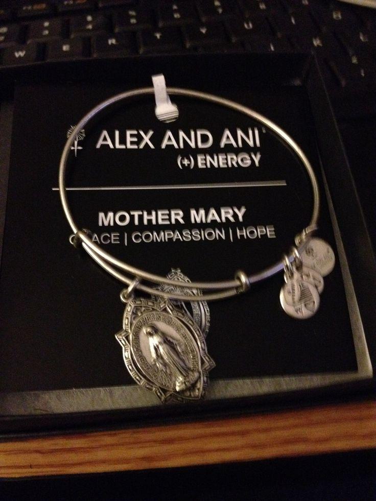 Mother Mary Alex and Ani bracelet
