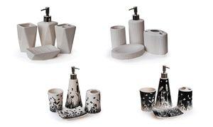 Four-Piece Ceramic Bathroom Set