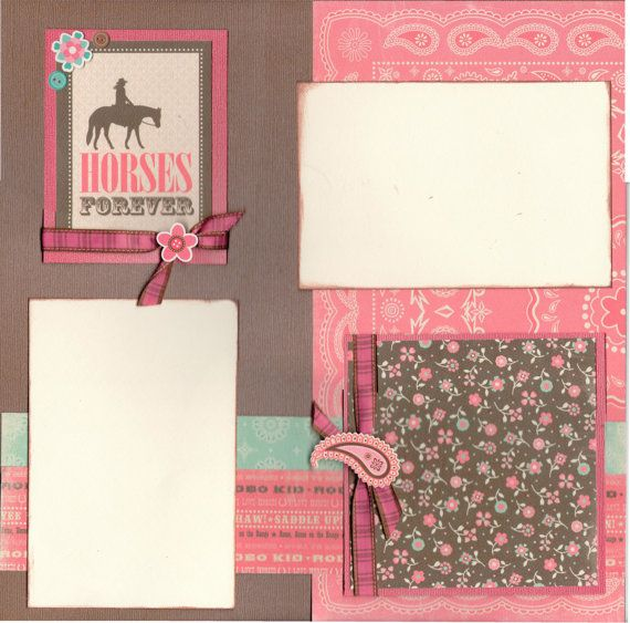 20 Best Horse Scrapbooking Kits Westernenglish Images On Pinterest