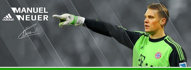 My friend-Tell me someone that is perfect cuz I don't think that there is one. ME- Well there is Neuer <3