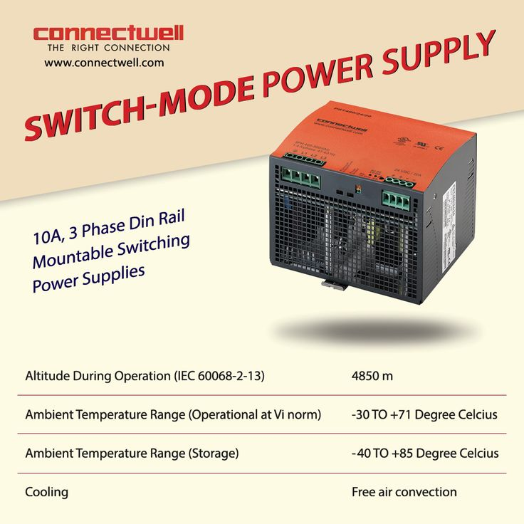 Switched-mode power supply or SMPS is an electronic power supply that incorporates a switching regulator to convert electrical power efficiently. For more details visit:http://bit.ly/2lwFB9Q #SMPS #Connectwell