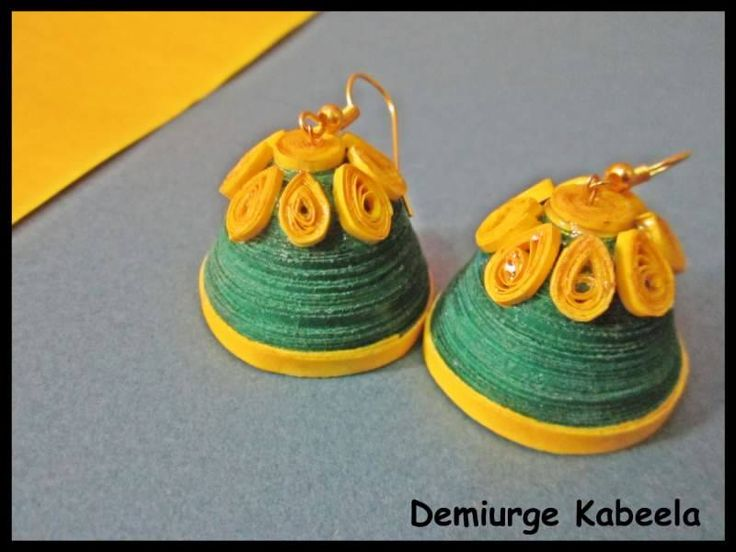 Quilled Jhumka :)