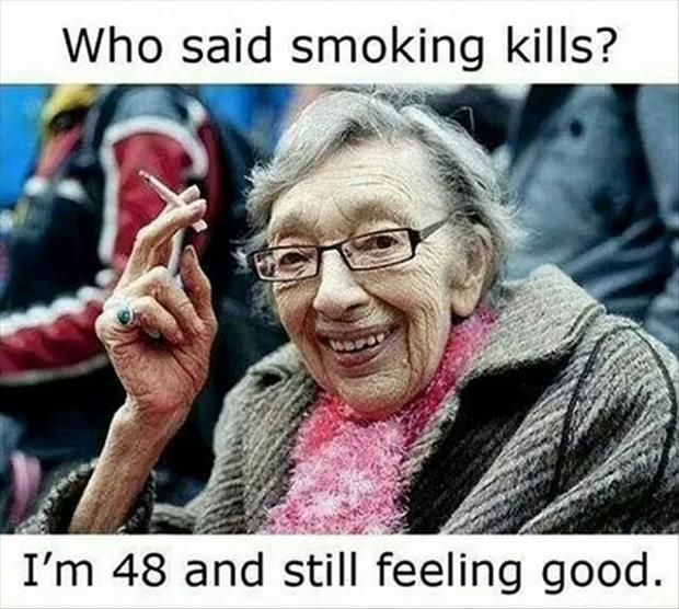 A plastic surgeon can spot a smoker from across the room--the telltale wrinkles!