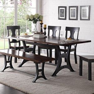 Crown Mark Astor Dining Table Dining Table Stylish Dining Room