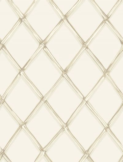 Bagatelle (99/5023) - Cole & Son Wallpapers - An elegant lattice trellis design wallpaper, inspired by the 18 C landscaped garden of the Chateau de Bagatelle. Shown here in ivory. Other colourways are available. Please request a sample for a true colour match. Paste the wall.