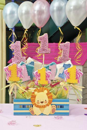 Fiesta de cumpleaños para el primer año de tu peque