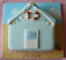 Beach Hut Cake  Recipe Submitted By: bakingmad