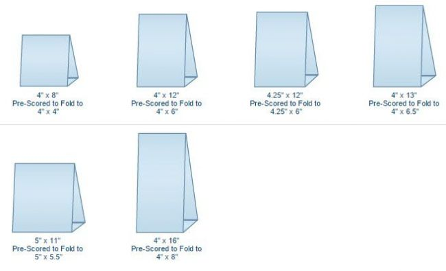 Blank Tent Card Template In 2021 Diy Tent Tent Cards Table Tents