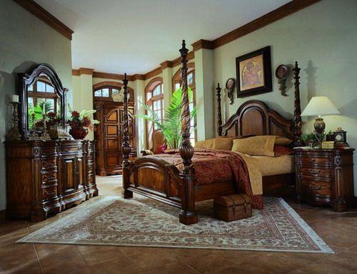 Classic Bedroom Furniture Sets Mediterranean Style Images Interior Design - GiesenDesign