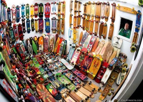 Skateboards!
