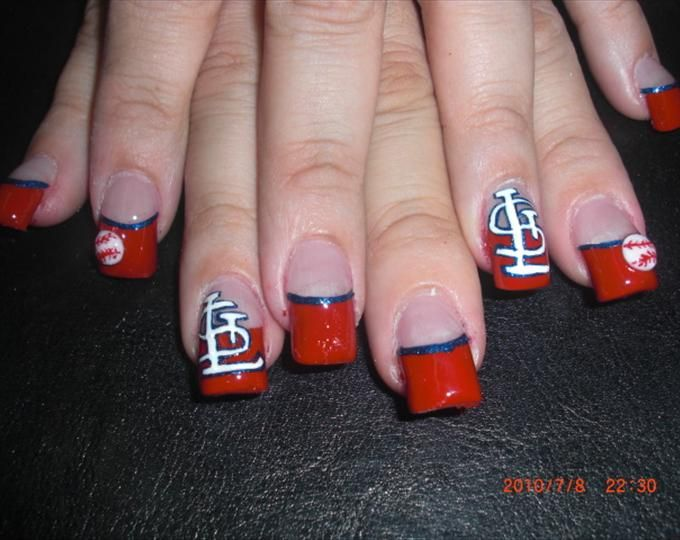 23 Best Nails Images On Pinterest Nail Scissors Stl Cardinals And