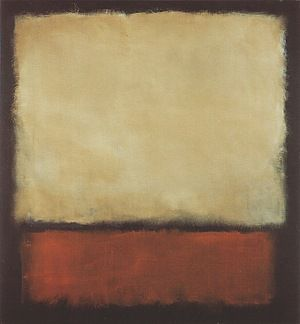 Rothko simple painting