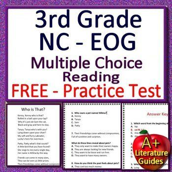 3rd Grade NC EOG Test Prep NC Reading Practice Tests - NC ...
