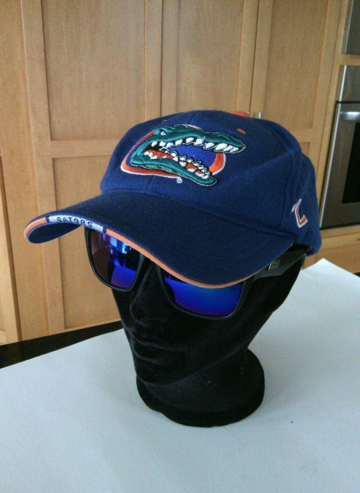 Florida Gators Baseball Team Unisex Blue Orange Baseball Cap Fan Gear Hat Game