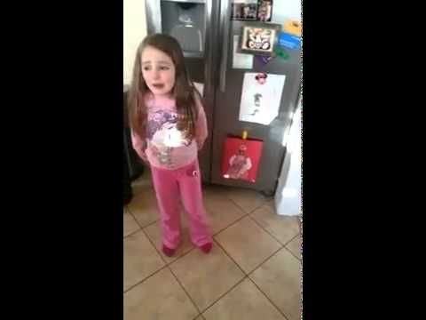 Sophia wants her hand stamp while throwing tantrums - YouTube