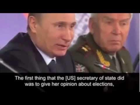 Putin on Hillary Clinton eng subtititle Putin na Khillari Klinton  Путин...