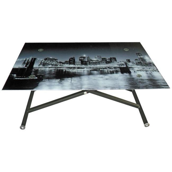 Mesa de centro elevable stand up brooklyn en conforama - Conforama mesa elevable ...