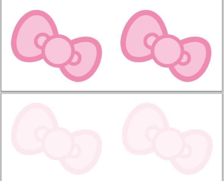 bow / printable