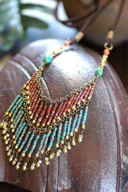 Red & Blue! Beans Okinawa beads kit