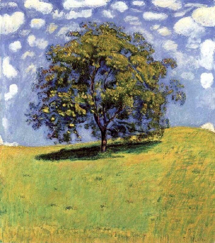 Ferdinand Hodler ( Sweden).... The Nut Tree