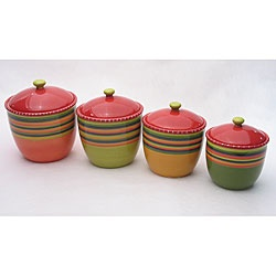 These canisters would be oh-so-useful and look great in my citrus-colored kitchen!
