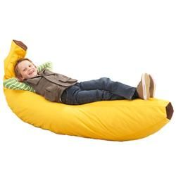 Now that's our kind of bean bag chair!