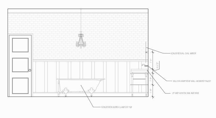 2-D plans, elevations, & sections – genzen design