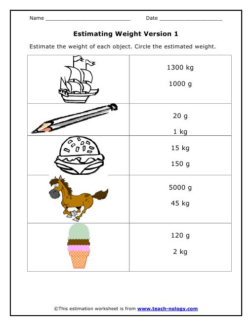 10 best images about weight worksheets on pinterest colors free printables and math. Black Bedroom Furniture Sets. Home Design Ideas