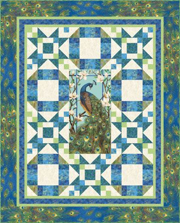 peacock quilt | Other patterns in this collection: